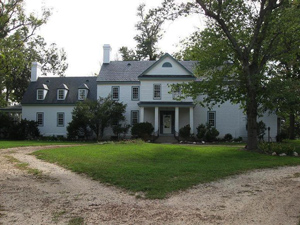 Front of Locust Grove Home